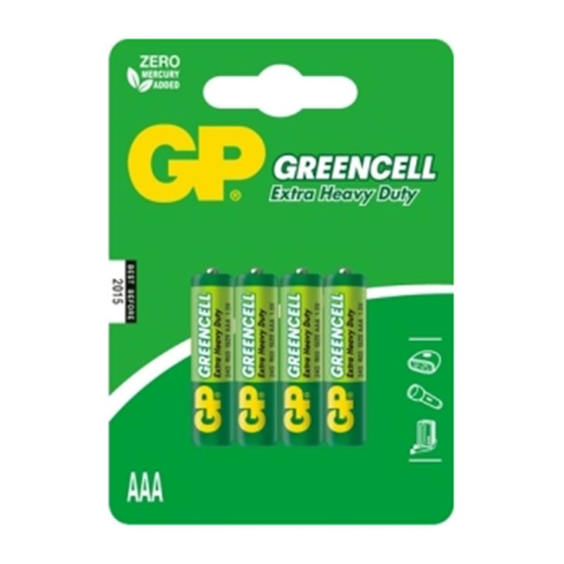 Baterijas GP LR03 (AAA), 4 gab./iepak.