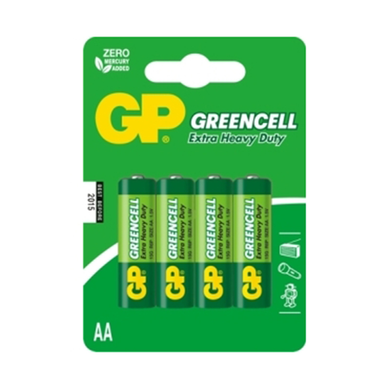 Baterijas GP LR6 (AA), 4 gab./iepak.