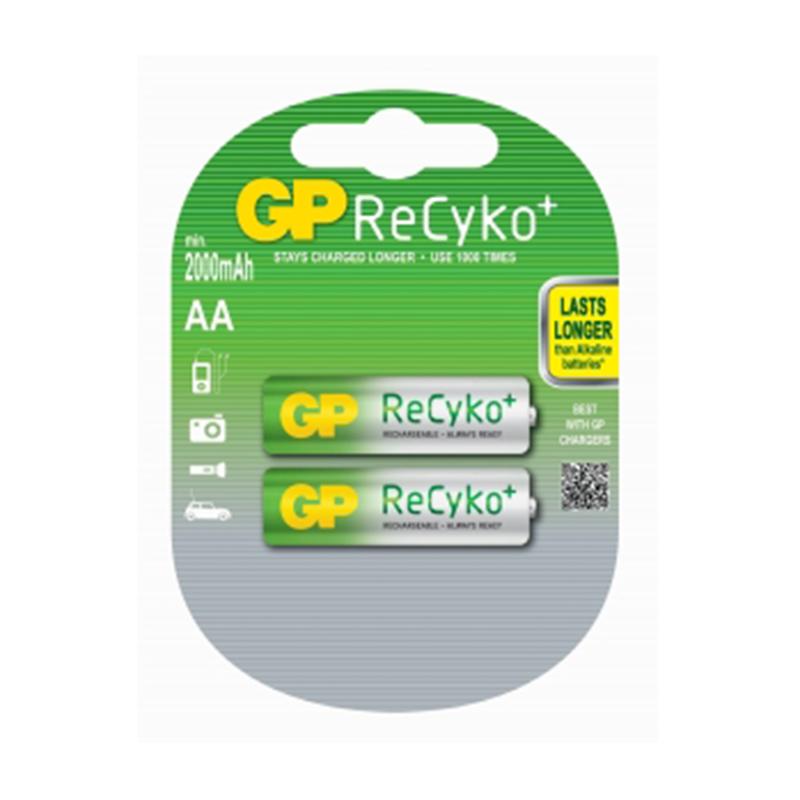 Akumulatori GP ReCyKo+ HR6 (AA) 2000mAh, 2 gab./iepak.