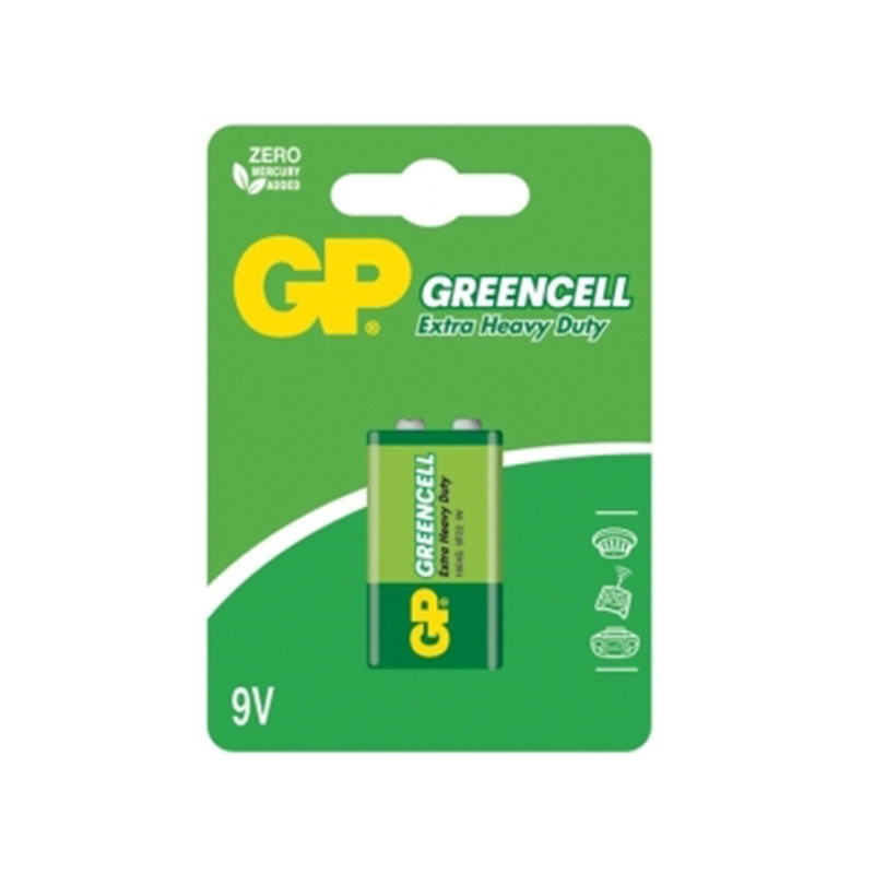 Baterija GP 6LR61, 1 gab./iepak.