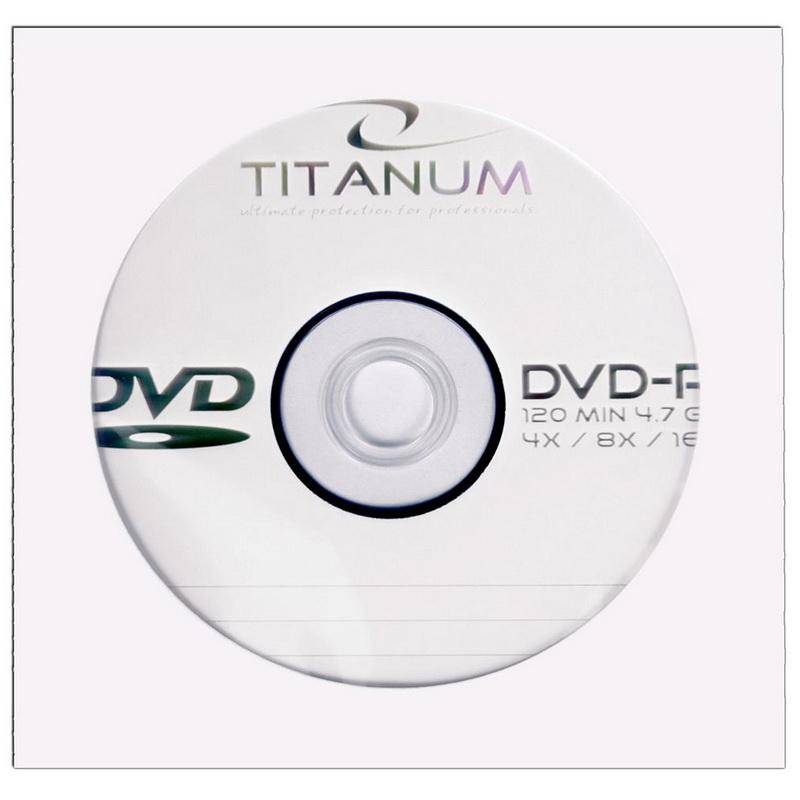 ESPERANZA Titanium DVD-R 4.7GB 16X, papīra vāciņos