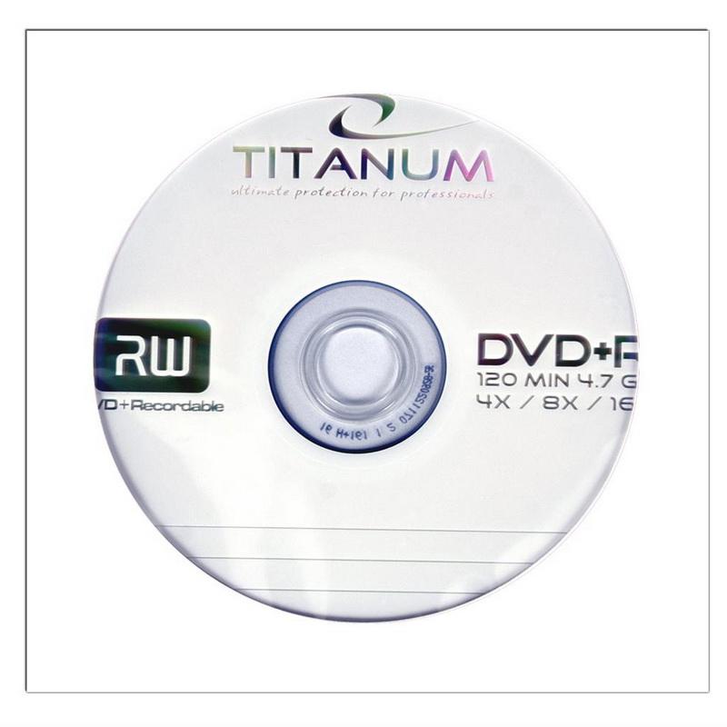 ESPERANZA Titanium DVD+R 4.7GB 16X, papīra vāciņos