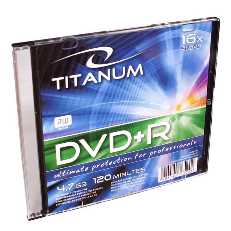 ESPERANZA Titanium DVD+R 4.7GB 16X, slim box
