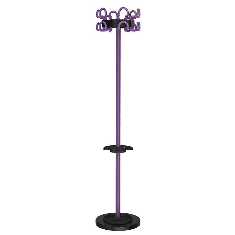 Drēbju pakaramais UNILUX Fil, violets
