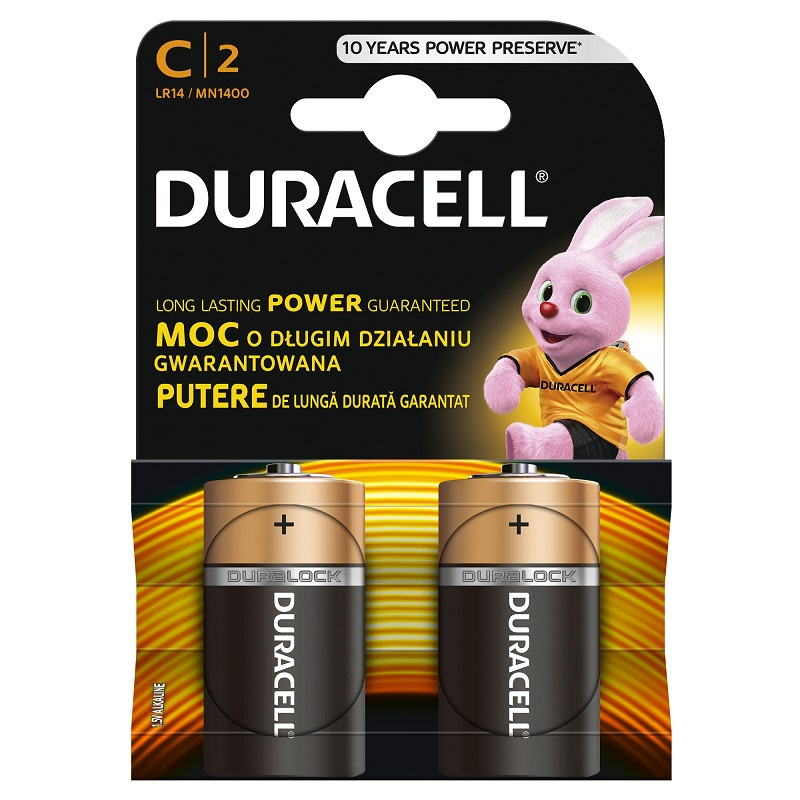 Baterija DURACELL Basic C, LR14