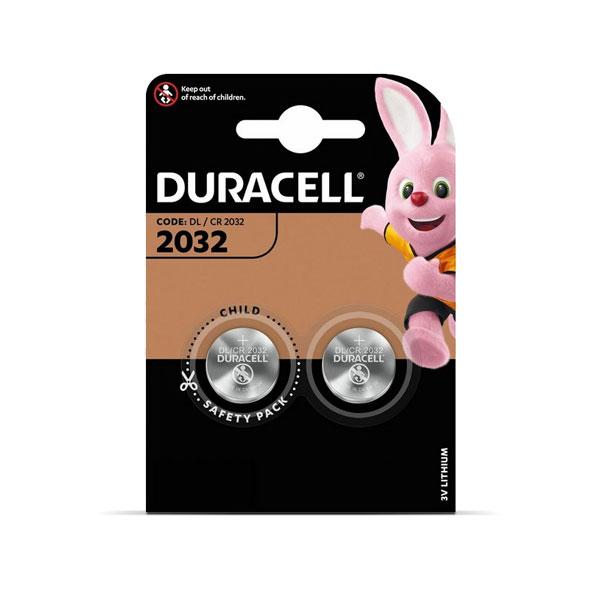 Baterijas DURACELL 2032, 2 gab./ iepak.