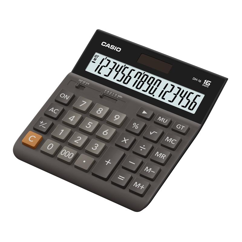 Galda kalkulators CASIO DH-16, 151 x 159 x 29 mm