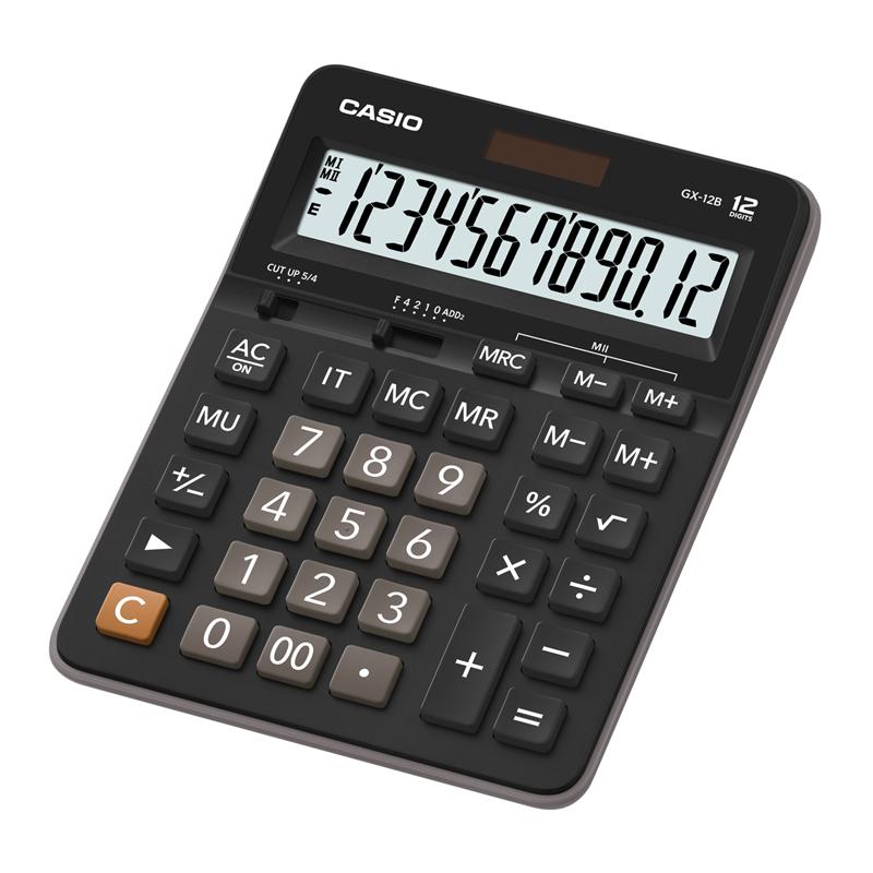 Galda kalkulators CASIO GX-12B, 159 x 207 x 34 mm