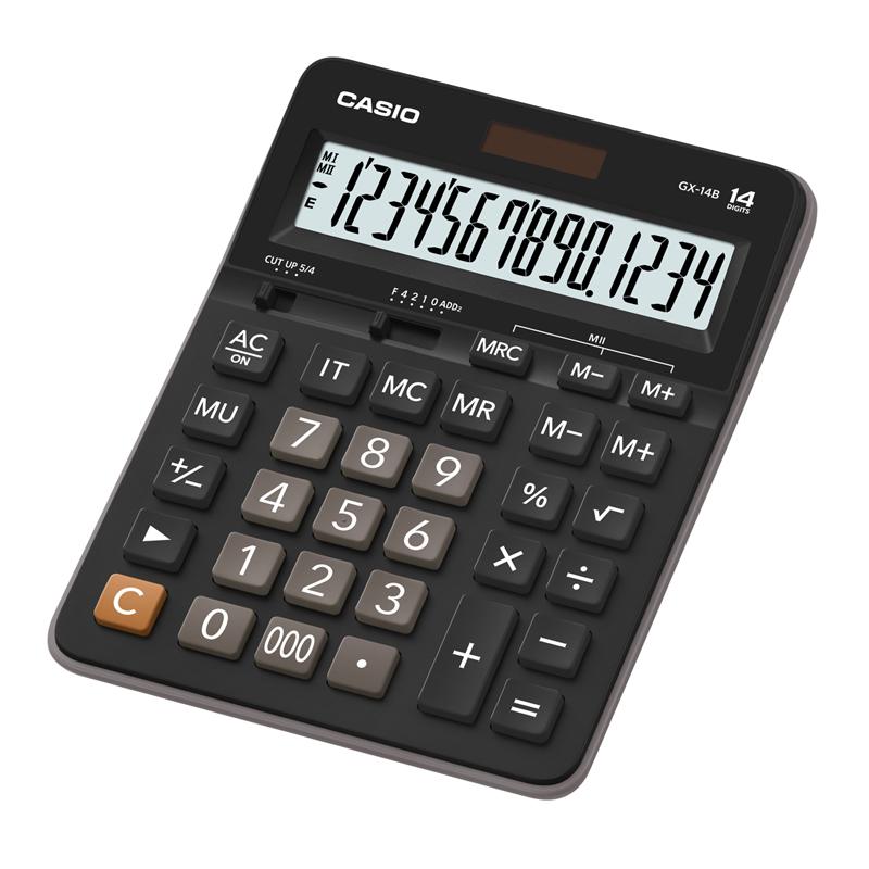 Galda kalkulators CASIO GX-14B, 159 x 207 x 34 mm