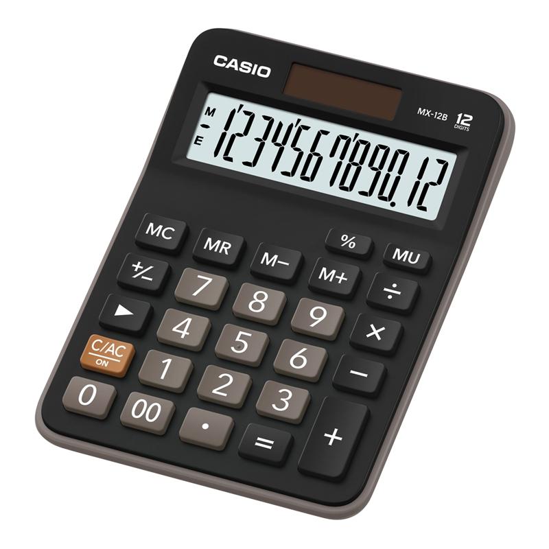 Galda kalkulators CASIO MX-12B, 107 x 147 x 29 mm