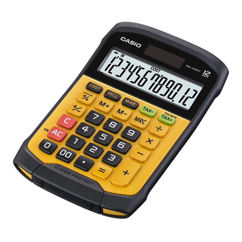 Galda kalkulators CASIO WM-320MT, 109 x 169 x 33 mm