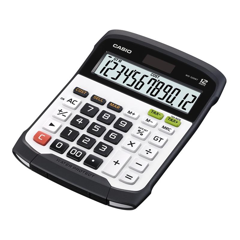 Galda kalkulators CASIO WD-320MT, 145 x 195 x 36 mm