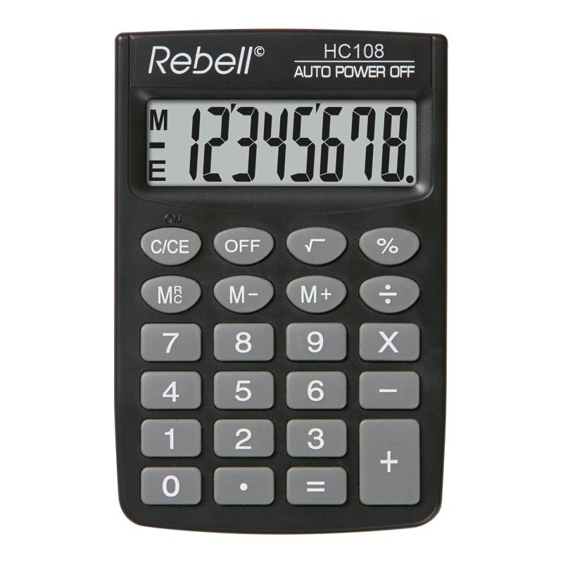 Kabatas kalkulators REBELL RE-HC108 BX