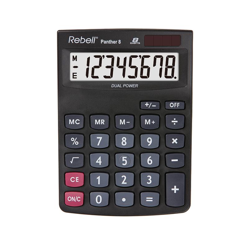 Galda kalkulators REBELL RE-PANTHER 8 BX