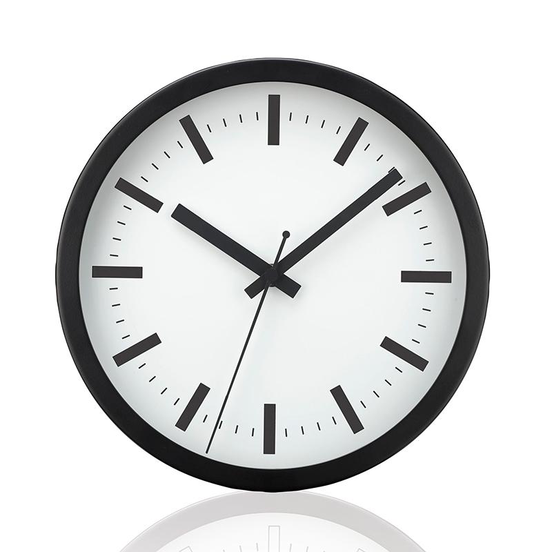 Sienas pulkstenis SAINT-TROPEZ, diametrs 25 cm, balts