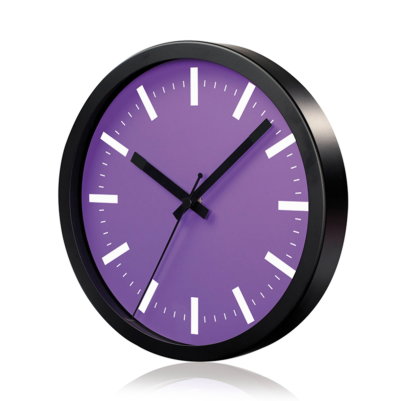 Sienas pulkstenis SAINT-TROPEZ, diametrs 25 cm, violets