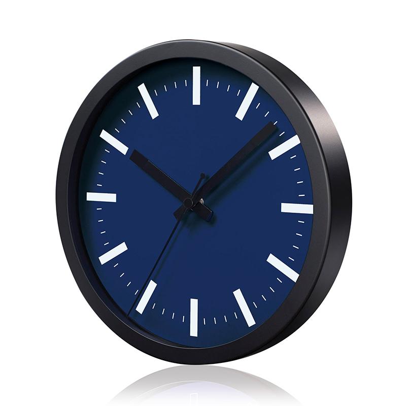 Sienas pulkstenis SAINT-TROPEZ, diametrs 25 cm, tumši zils