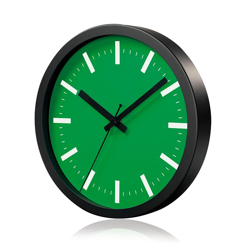 Sienas pulkstenis SAINT-TROPEZ, diametrs 25 cm, zaļš