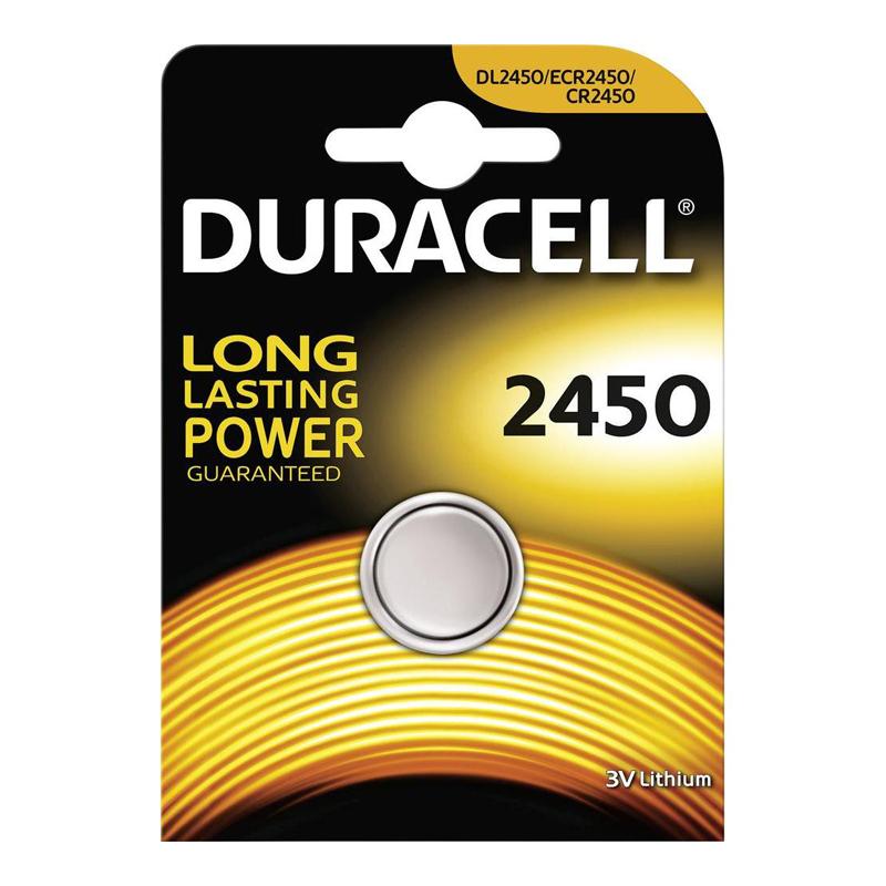 Baterijas DURACELL 2450, 1 gab./iepak.