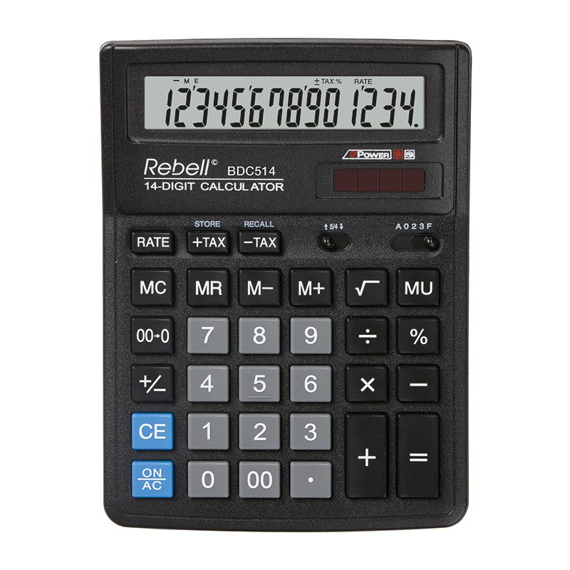 Galda kalkulators REBELL RE-BDC514 BX