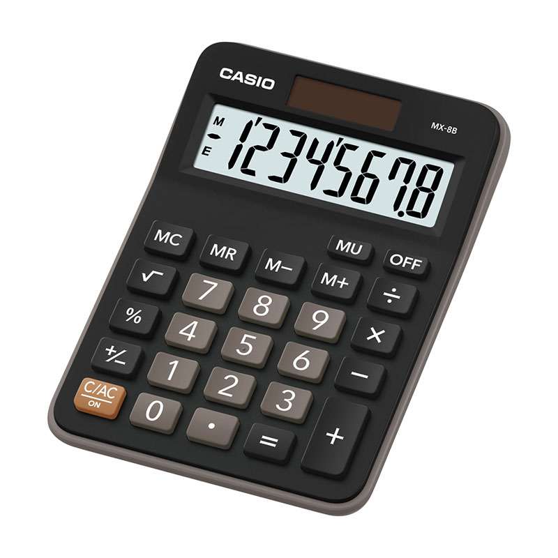 Galda kalkulators CASIO MX-8B