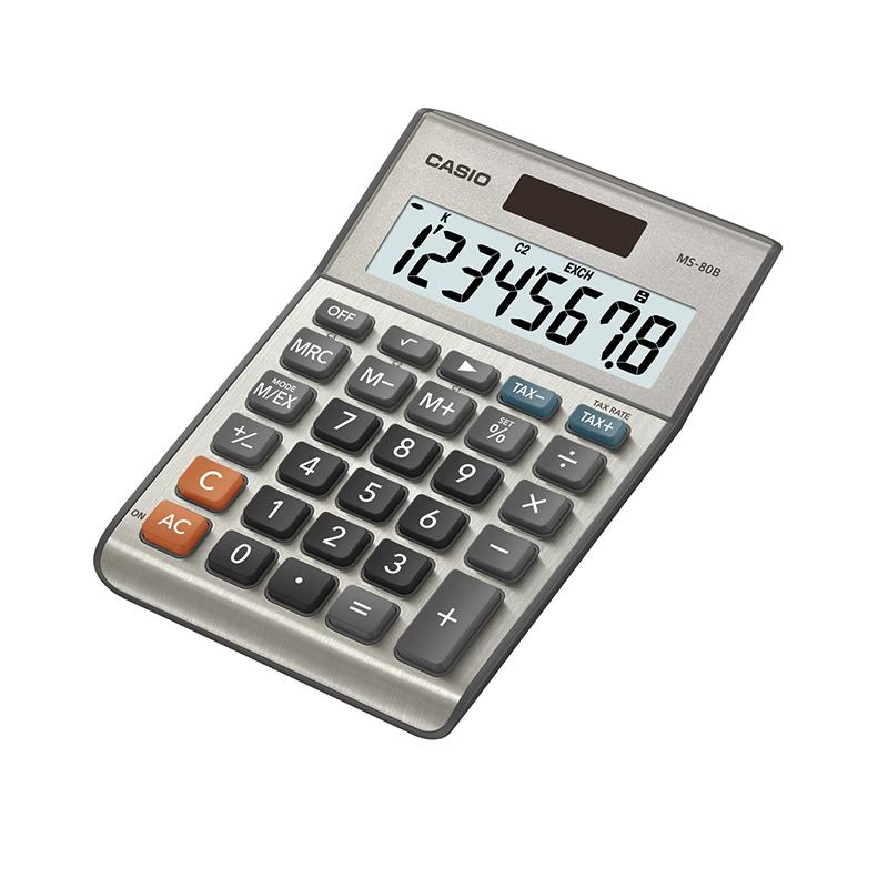Galda kalkulators CASIO MS-80B