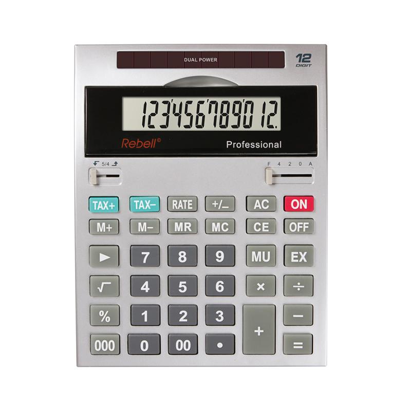 Galda kalkulators REBELL Professional