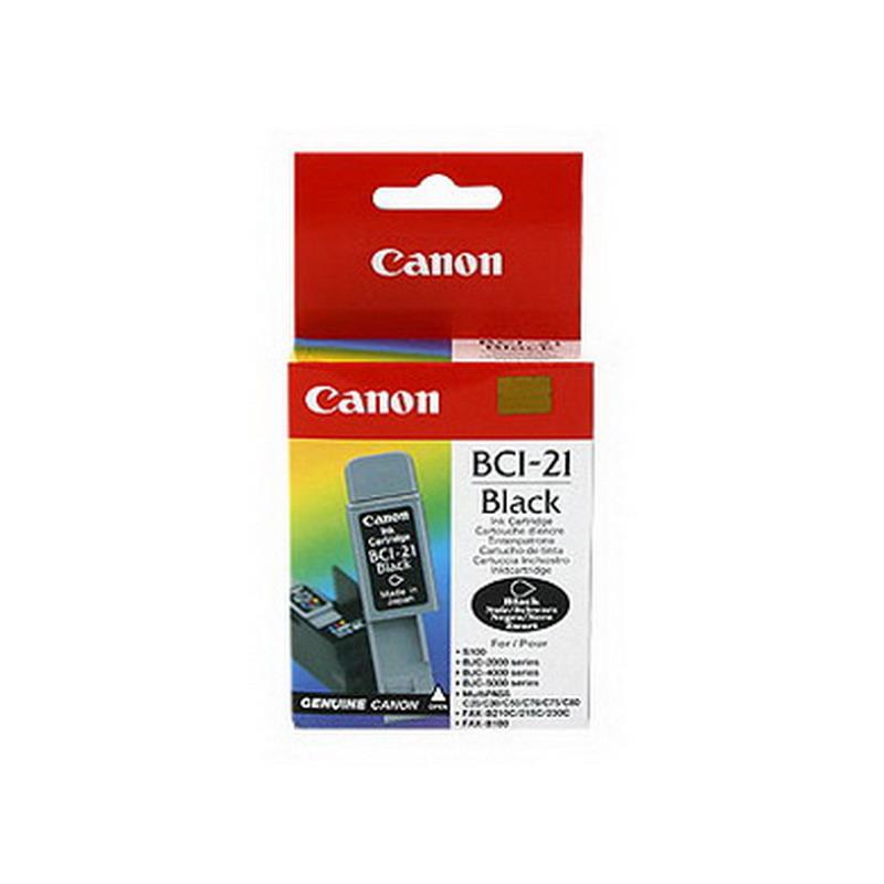 Kārtridžs CANON BCI-21B (225 lpp.) melns