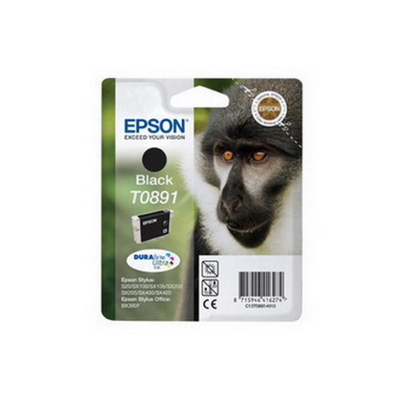 Kārtridžs EPSON T0891 (5.8 ml.) melns