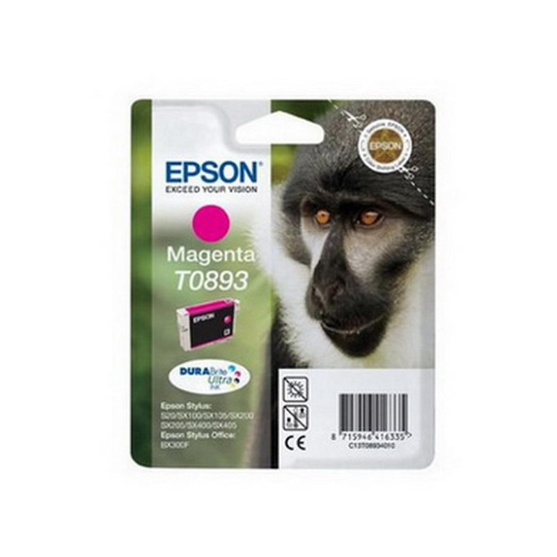 Kārtridžs EPSON T0893 (3.5 ml.) sarkans