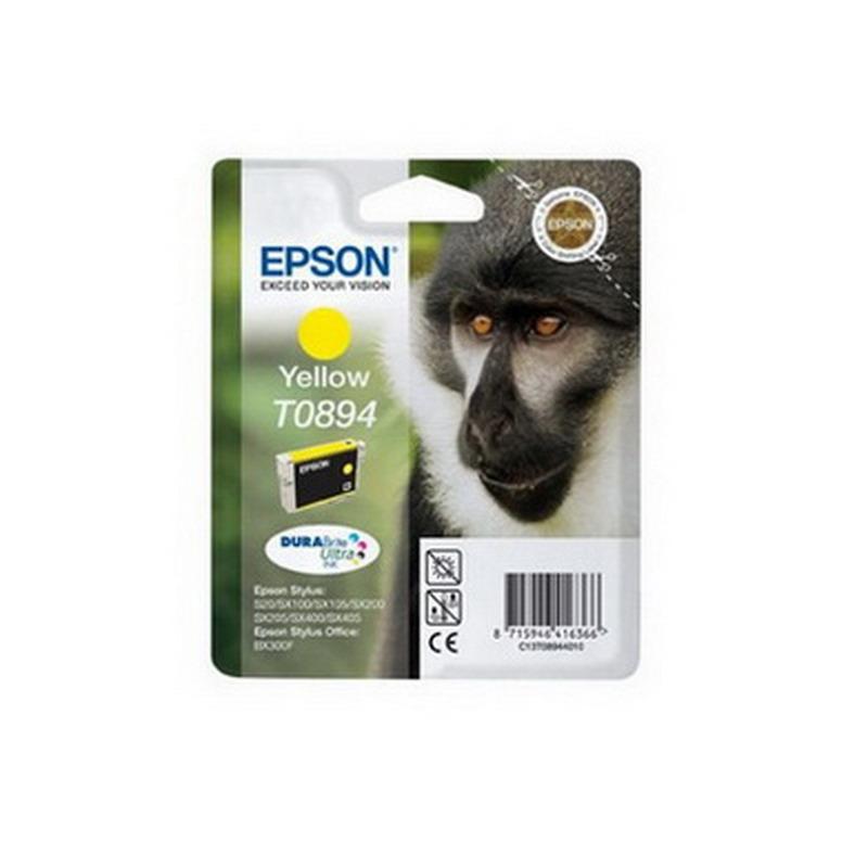 Kārtridžs EPSON T0894 (3.5 ml.) dzeltens