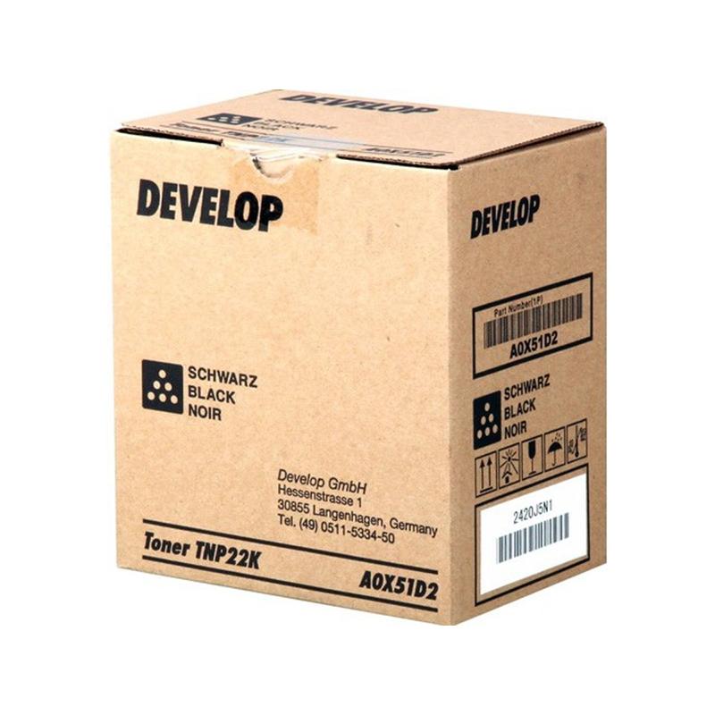 Toneris DEVELOP TNP22K/A0X51D2 (6.000 lpp.) melns