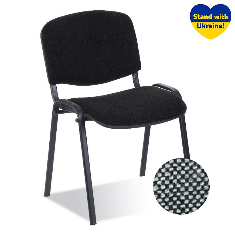 Krēsls NOWY STYL ISO BLACK C-73, gaiši pelēks