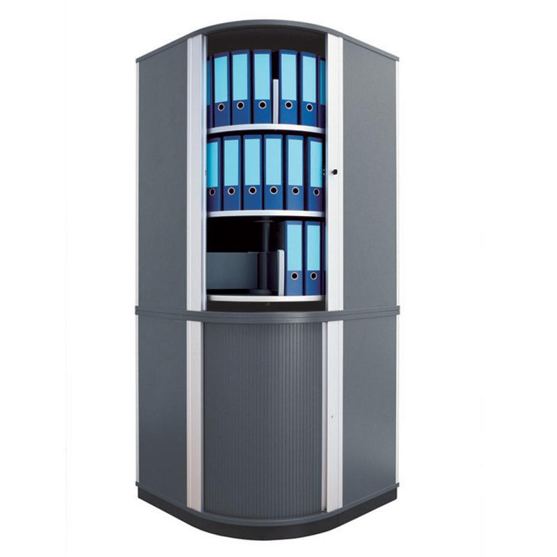 Rotējošo plauktu stūra sistēma MOLL LF Corner 80 Flex Cabinet, 5 līmeņi