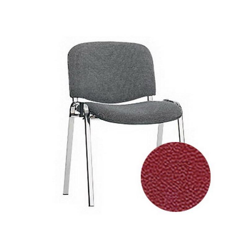 Konferenču krēsls NOWY STYL ISO CHROME C-29, bordo