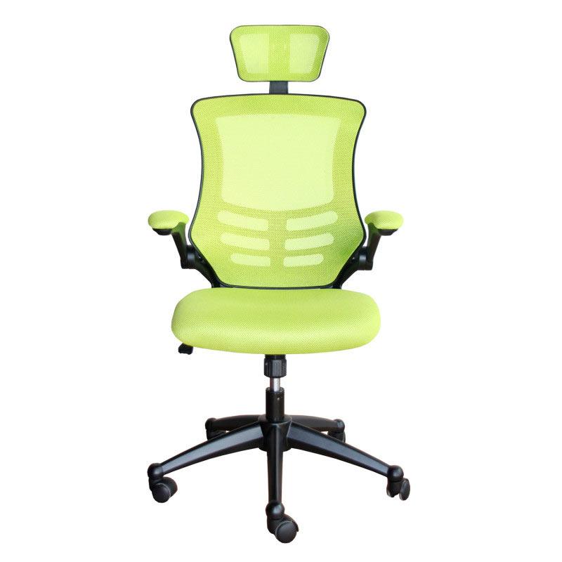 Biroja krēsls Office4You RAGUSA gaiši zaļa krāsa, audums