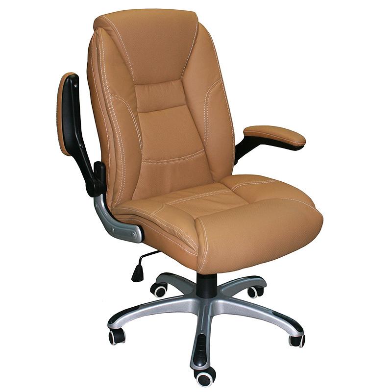 Biroja krēsls Office4You CLARK krēmkrāsa, ādas imitācija