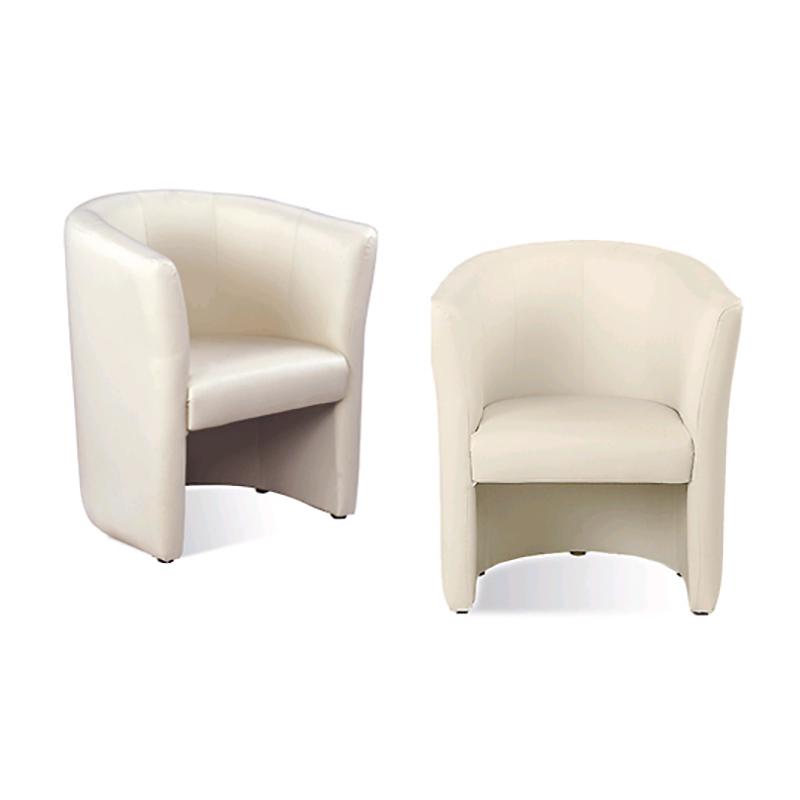 Vienvietīgs krēsls NOWY STYL CLUB melns, V-4, ādas imitācija