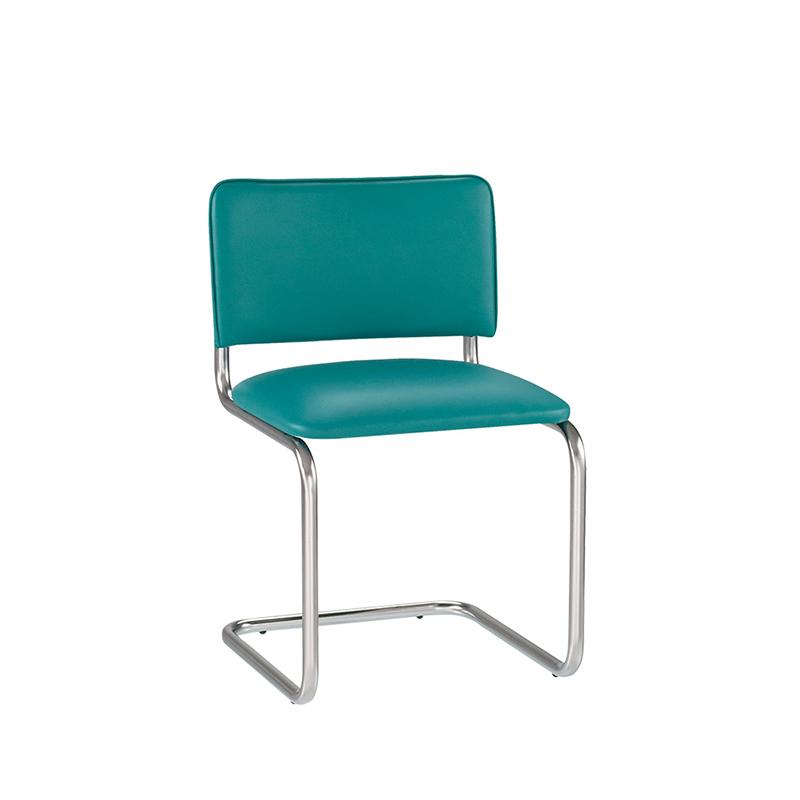 Krēsls NOWY STYL SYLWIA ziloņkaulas krāsas ādas imitācija V-18