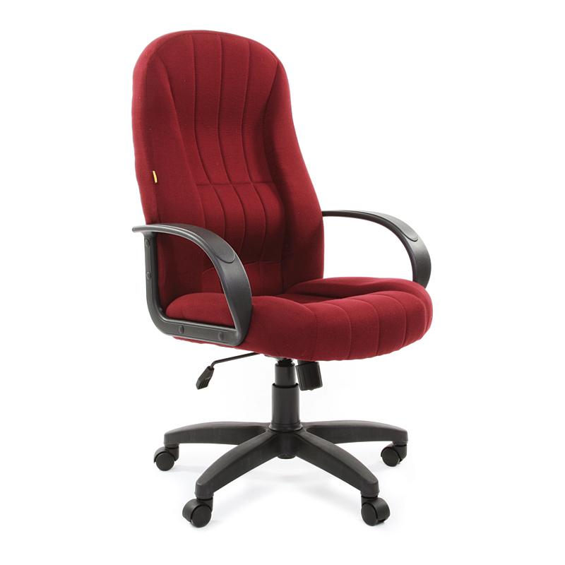 Biroja krēsls CHAIRMAN 685 TW bordo krāsas audums