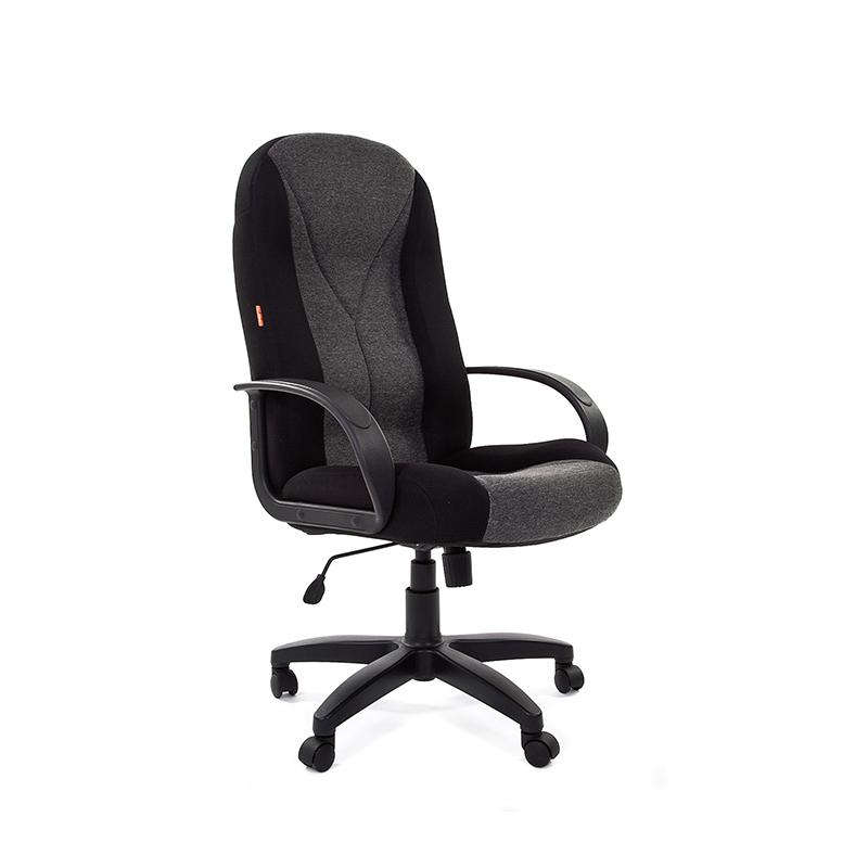 Biroja krēsls CHAIRMAN 785 melnas un pelēkas krāsas audums