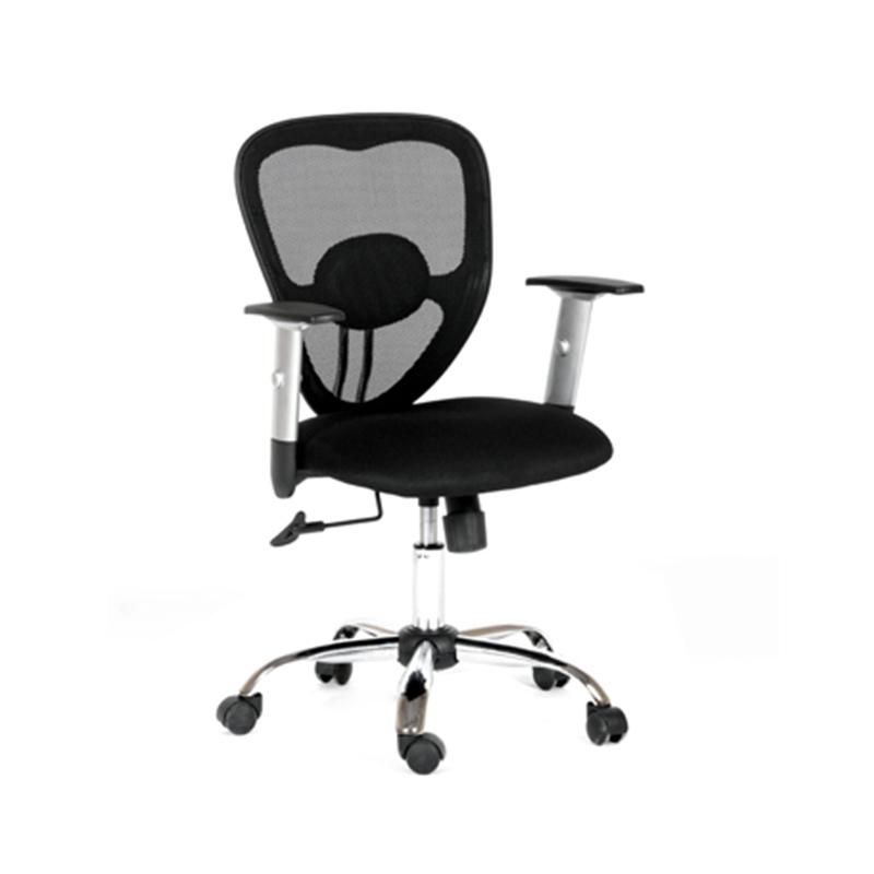 Ergonomisks darba krēsls CHAIRMAN 451 melnas audums, hromēts pamats