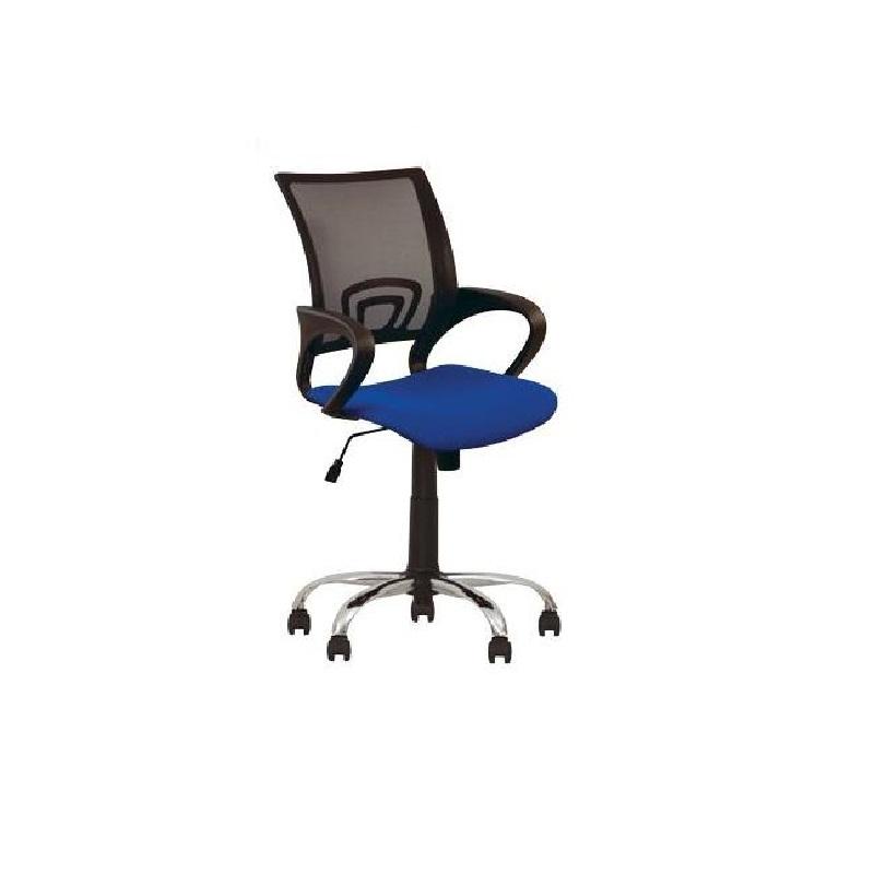Krēsls NOWY STYL NETWORK GTP CHROME C-38 pelēks