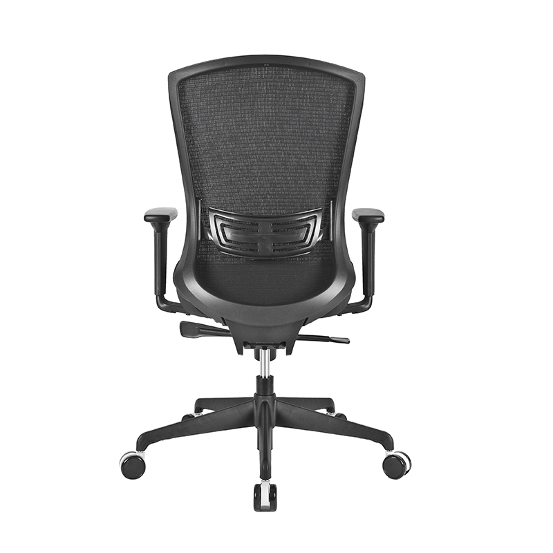 Ergonomisks biroja krēsls CHAIRMAN 722 melns audums