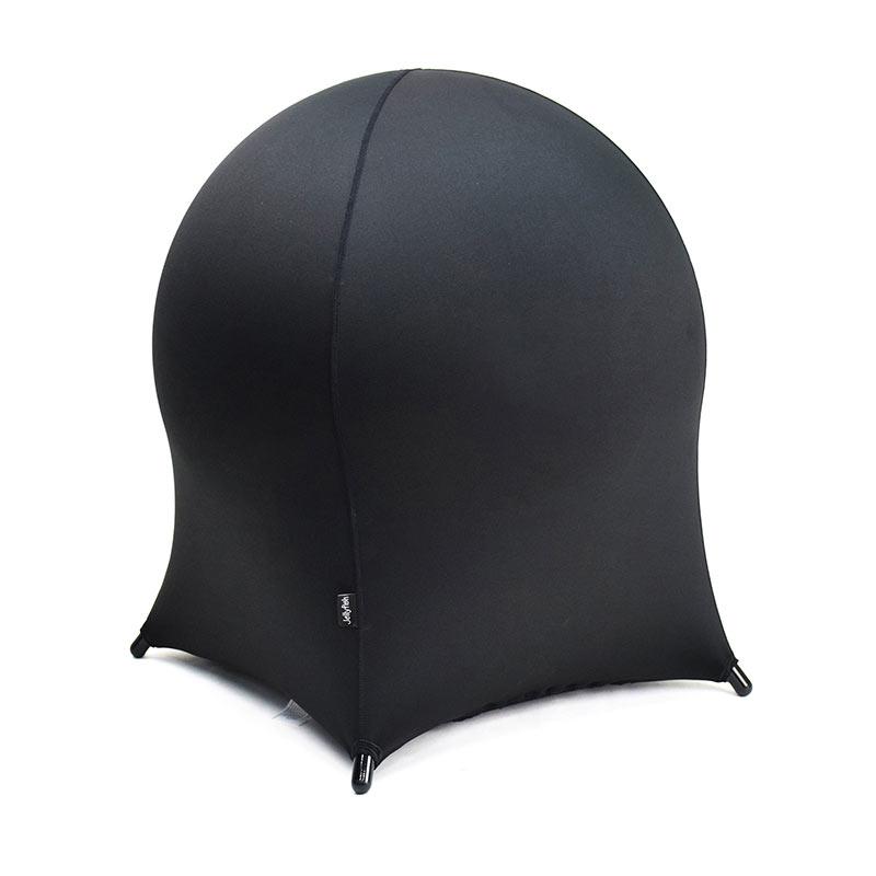 Krēsls OFFICE4YOU Jellyfish, melns