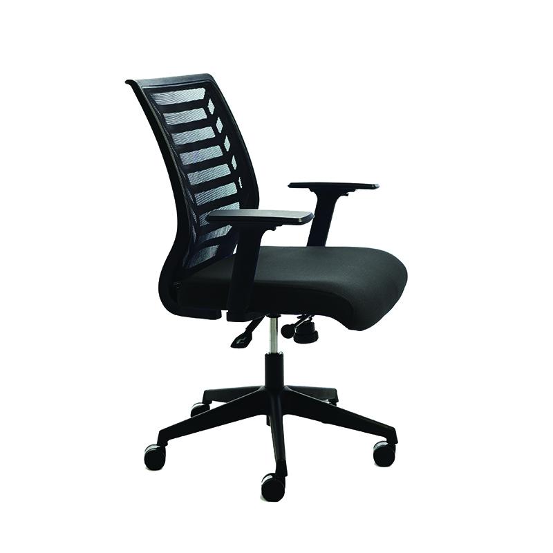 Ergonomisks biroja krēsls ROCADA 907 melns audums, melns pamats