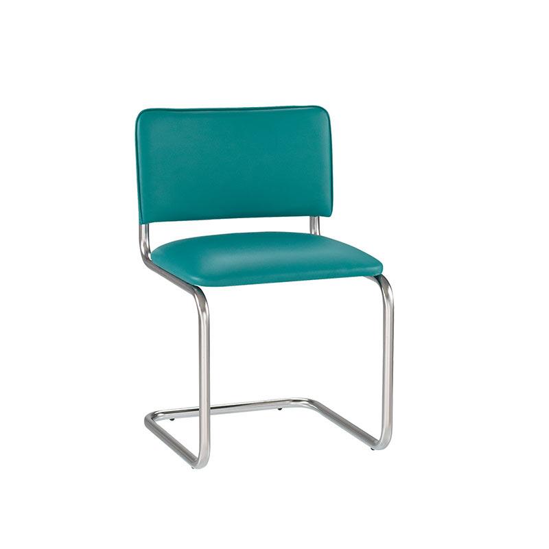 Krēsls NOWY STYL SYLWIA tirkīza krāsas ādas imitācija V-20