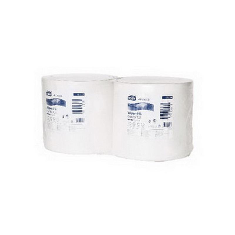 Industriālais papīrs TORK Advanced 415 W1/W2, 1 sl., 1150 lapas rullī, 25 cm x 460 m, baltā krāsā