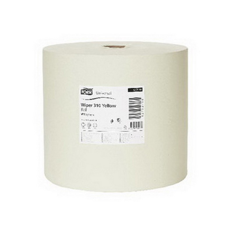 Industriālais papīrs TORK Universal 310 Big Roll W1, 1 sl., 33 cm x 1190 m, dzeltenā krāsā