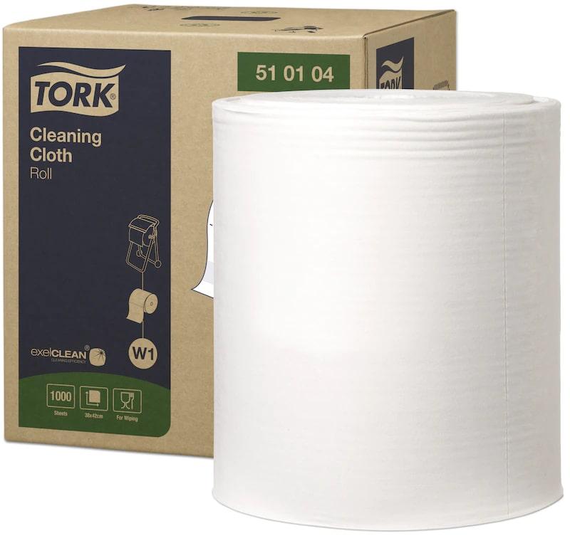 Industriālais papīrs TORK Premium 510 Big Roll W1, 1 sl., 1000 lapas rullī, 42.8 cm x 380 m, baltā krāsā